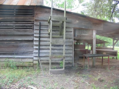 [Cattle Creek cabin up close]